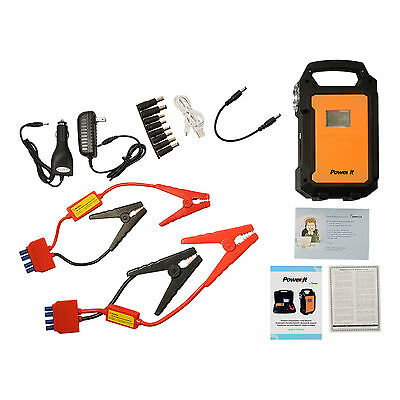 PowerIt 36,000mAh 24V Jump Starter and Power Supply for RV's & Light Trucks