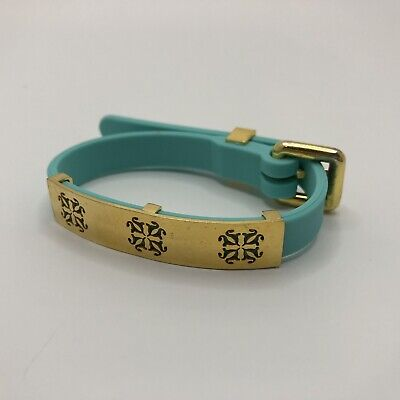 Turquoise Rustic Cuff Amanda Buckle Bracelet With Plate