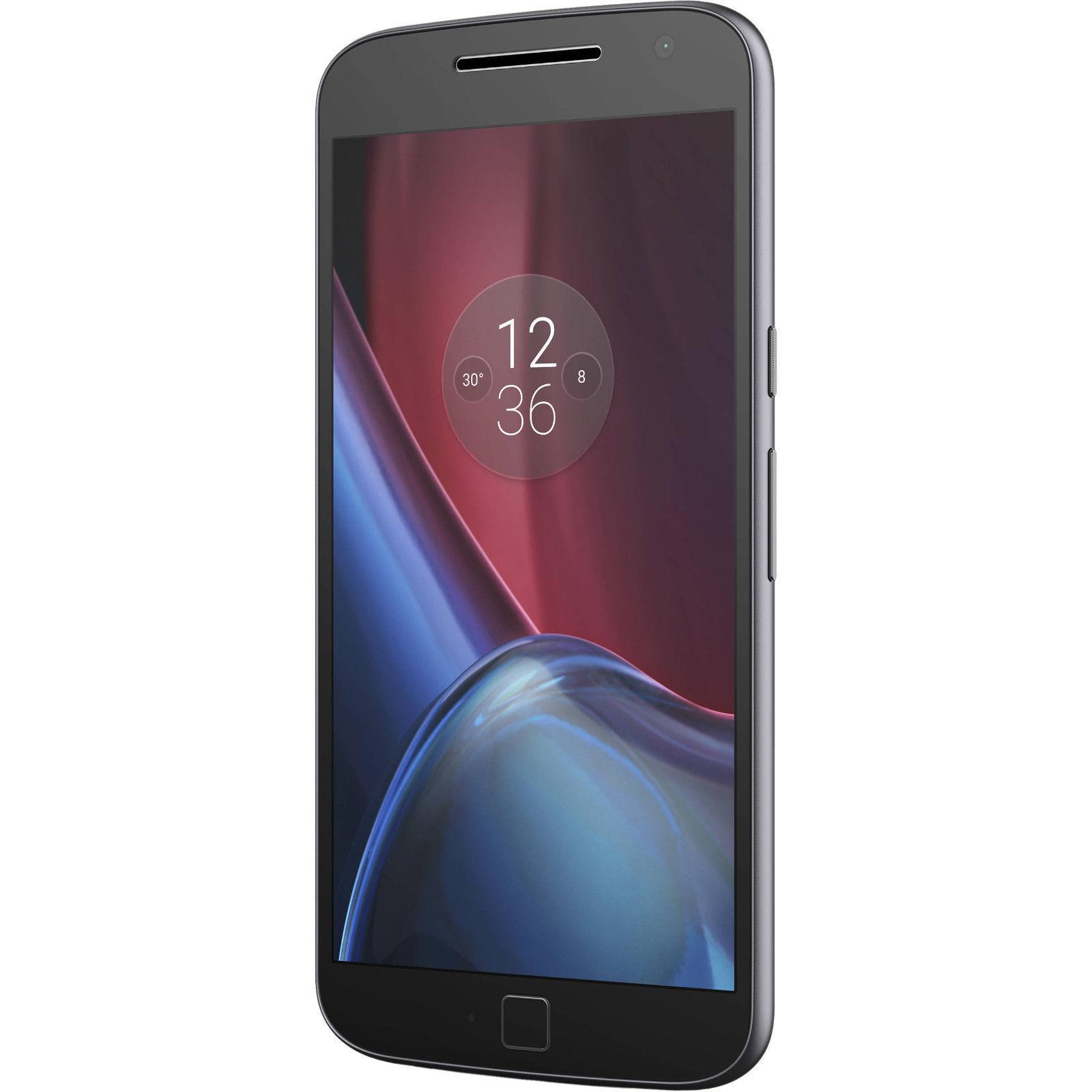 Motorola Moto G Plus 4th Generation XT1644 - 64GB - Black (Unlocked) Smartphone