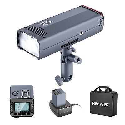 Neewer 200Ws 2.4G TTL Flash Strobe Compatible with Nikon DSLR Cameras