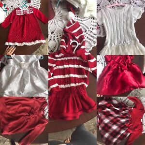Selling some baby Christmas dresses