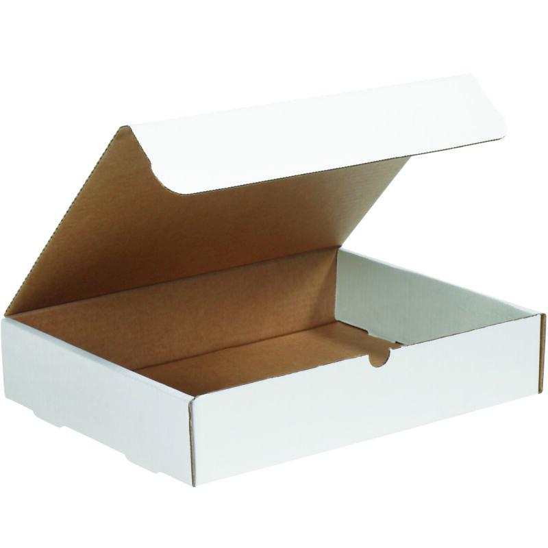 "Box Partners Literature Mailers 14"" x 10"" x 2"" White 50/Bundle ML14102"