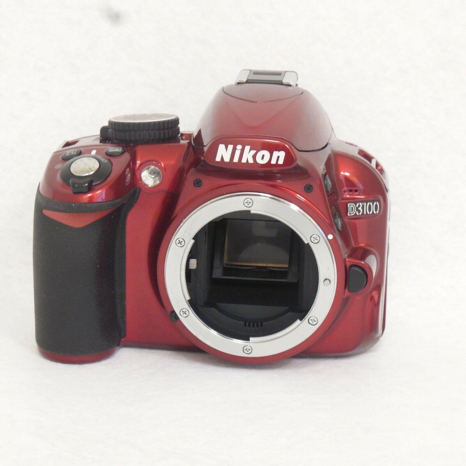 nikon-d3100-14-2mp-digital-slr-camera-body-red