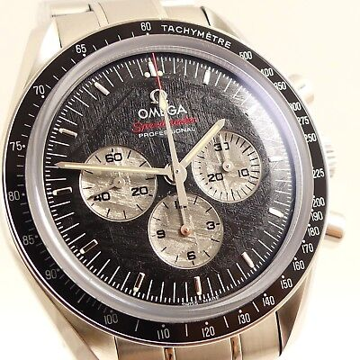 OMEGA SPEEDMASTER PROFESSIONAL APOLLO SOYUZ MOONWATCH BOX UND PAPIERE LIMITED ED