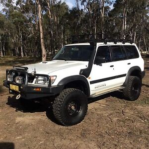 GU Nissan Patrol RB25 Neo R34 skyline turbo recent conversion East Kurrajong Hawkesbury Area Preview