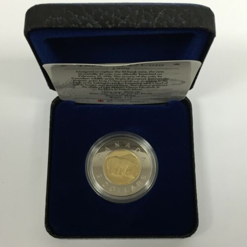 1996 CANADA TWO DOLLAR PROOF COIN ROYAL CANADIAN MINT