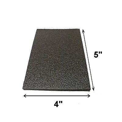 10x Foam Shipping Pads 5x4x12 Thick Black Pe Padding Packing Cushioning 0.5