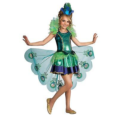 Peacock Child Costume - Childs Peacock Costume