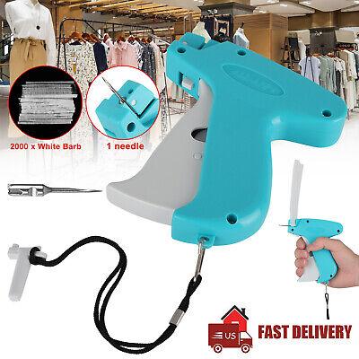 Clothing Garment Brand Price Tag Gun 2000 Barbs Label Needle Machine 1 Needle Us