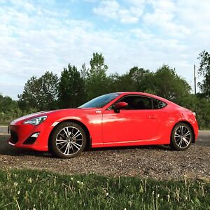 2013 Scion FRS Red Auto w/ TRD exhaust