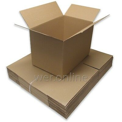 10 Postal Packing Mailing Cardboard Boxes 18x12x12