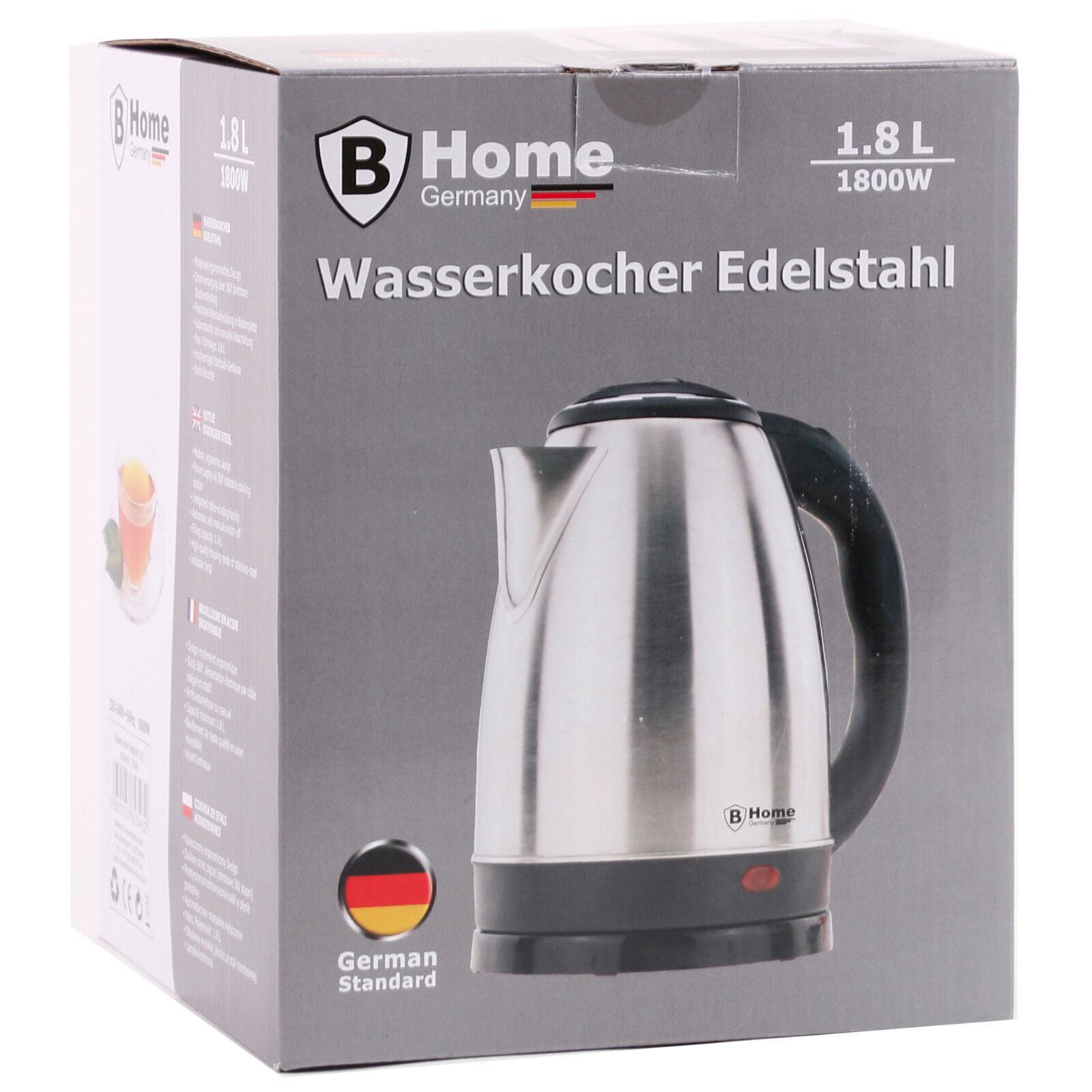 Wasserkocher 1800 W WASSERKESSEL TEEKESSEL WASSERKOCHER KESSEL ...