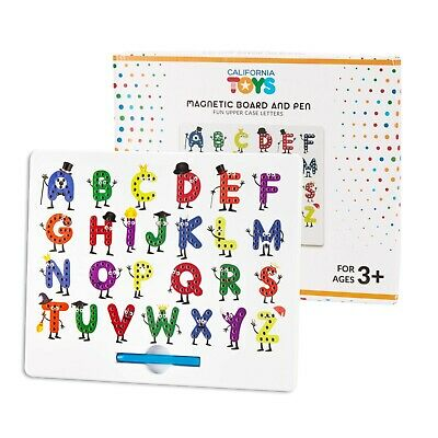 Magnetic Letter Board by California Toys - Writing Board for Kids - ABC