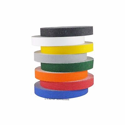 1 X 60 Non Skid Adhesive Tape Several Colors - 60 Grit - Grip Anti Slip Safety
