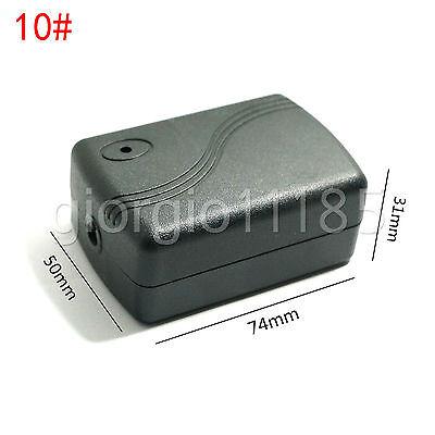 Us Stock 2pcs Plastic Project Box Electronic Enclosure Case Diy 74 X 50 X 31mm