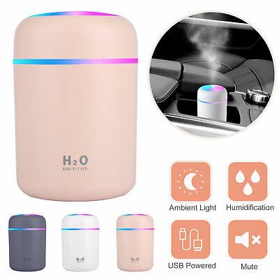 Aroma Essential Oil Diffuser Grain Ultrasonic Air LED Aromat
