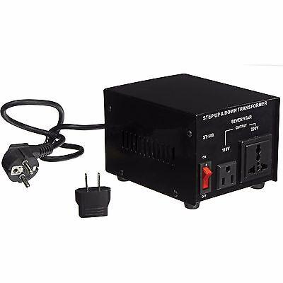 500 Watt 110 220 Volt Voltage Converter Up Down Power Transformer 500W Adapter