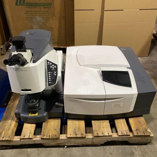 Agilent Cary 600 Series FTIR Spectrometer 660 FTIR w/ Microscope Cary 610 FTIR