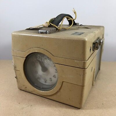 Old Vintage Benzing pigeon Timer Clock Constateur in Case . Untested Condition