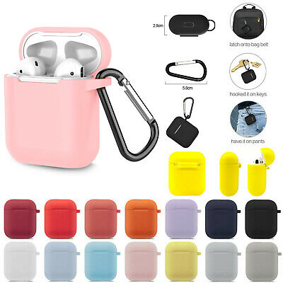 For Apple AirPods Case Silicone Protect Cover Skin AirPod Earphone Charger Cases