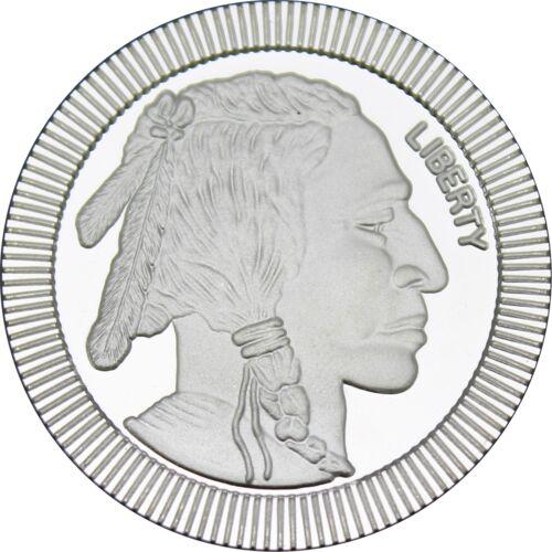 SilverTowne Buffalo Stackables 1oz .999 Silver Medallion (5pc)