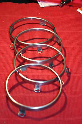 67-68-69-70 roadrunner/charger/coronet/superbee CLEANED headlight ring set of (67 68 69 Charger Coronet)