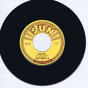 RUFUS-THOMAS-TIGER-MAN-SAVE-THAT-MONEY-Legendary-SUN-label-ROCKIN-BLUES