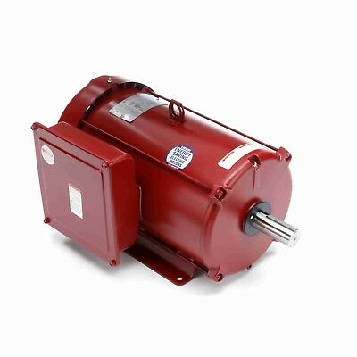 140414.00 10hp Leeson Electric Motor Tefc 1725 Rpm 215t 1ph. Farm Duty