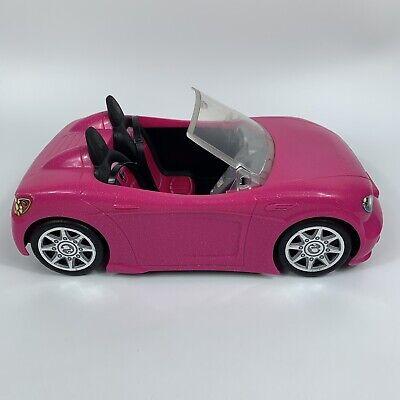 Mattel Barbie Hot Pink Glam Convertible Cruiser Sports Car 2013 BDF38