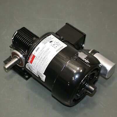 Dayton Ac Gearmotor 3xa89 115230v 14 Hp 80 Rpm 58 Tefc Electric Motor
