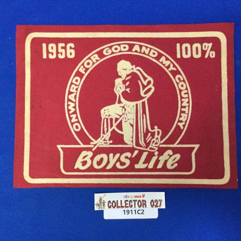 Boy Scout 1956 100% Boys