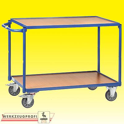 FETRA Leichter Tischwagen 2940 80 / 300 kg Tragkraft Etagenwagen Transportwagen
