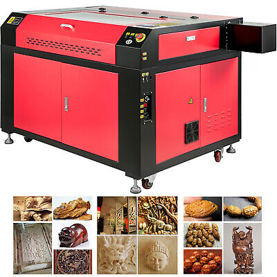 Vevor 100w 36x24 Co2 Laser Engraver Cutter Engraving Machine With Ruida Panel