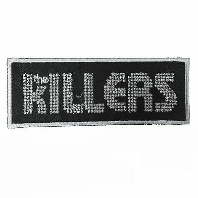 THE KILLERS Embroidered Rock Band Iron On or Sew On Patch UK SELLER Patches