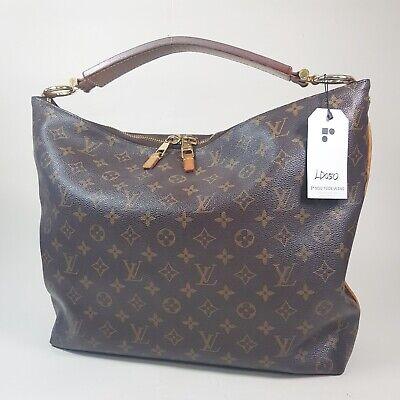 Authentic Louis Vuitton Sully MM Monogram M40587 Guaranteed Genuine Hobo LD050
