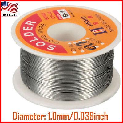 100g 6040 Tin Lead Solder Flux Wire Rosin Core Soldering Roll 0.0321 Mm 4oz