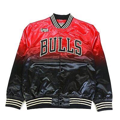 Mitchell & Ness Black NBA Chicago Bulls Chinese New Year Satin Jacket