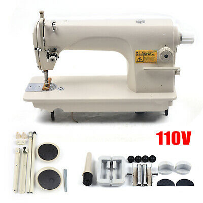 Leather Upholstery Walking Foot Manual Sewing Machine Head Only Diy Sm-8700