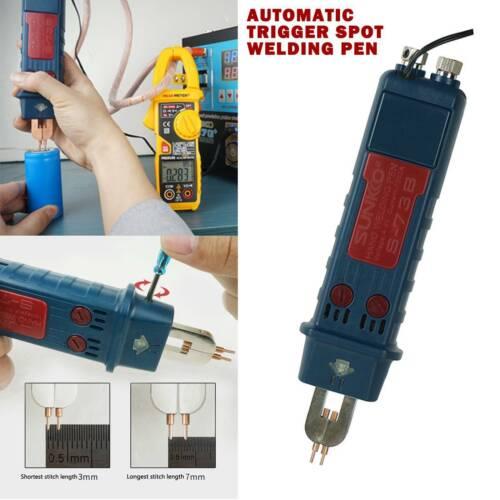 Punktschweißstift Hochleistung Lithium Akku Schweißgerät Einstellbar 0,05-0,35mm