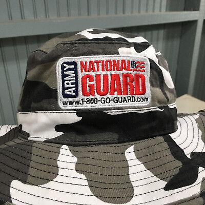 National Guard Small / Medium Camo Canvas Safari Hat