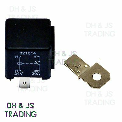 24V Relay 4 PIN Automotive 20/30AMP 20a 30a Changeover RY2 Normally Open Contact