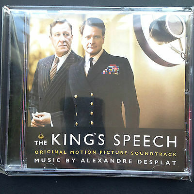 The Kings Speech Oscar Nominated Film Soundtrack Score Ost Cd Alexandre Desplat