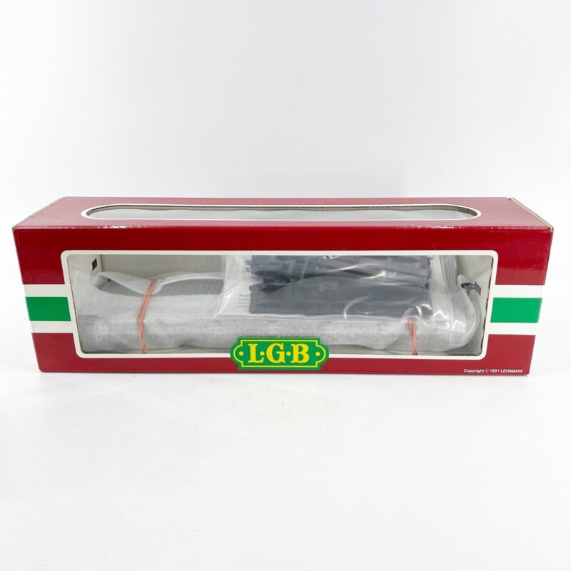 LGB 4360-DG G Scale Train Wilson Brothers Circus Silver Flat Car New in Box Mint