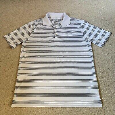 Nike Dri Fit Golf Tour Performance men's polo shirt in white/black - medium size