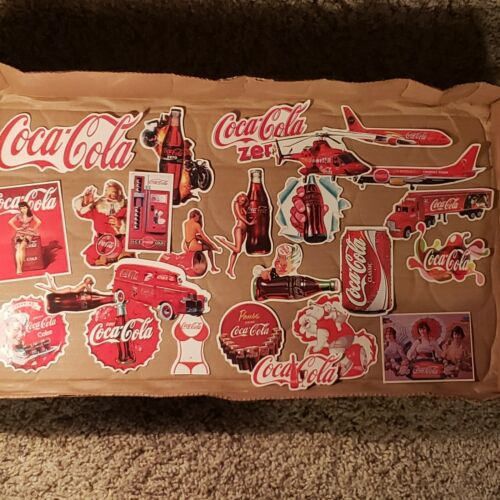 Coca Cola Vintage Stickers Laptop Skateboard Choose Your Own