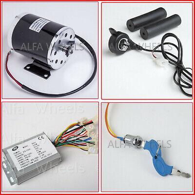 35 500w 24v Electric Motor Kit W Base Reverse Controlthmb Throttlekey Go-kart
