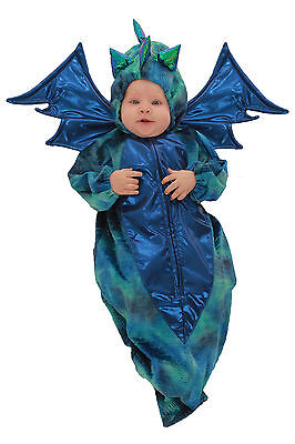 Danny Dragon Princess Paradise Costume Baby Boy Bunting Infant Newborn 0-3 month