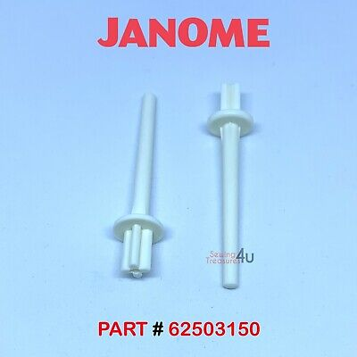 JANOME Sewing Machine SPARE Vertical SPOOL PIN COTTON REEL HOLDER # 625031005