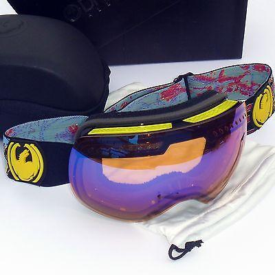 NEW Dragon APXs Goggles-Migraine/Blue Ionized Lens -Snow/Ski/Ion (Dragon Apx Lenses)