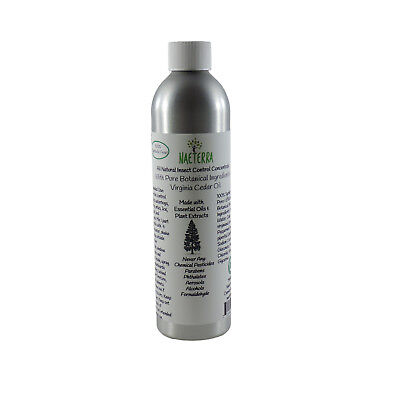Cedar Oil Concentrate- All Natural Insect Control Spray- 8 Oz - Synthetic Free! ()